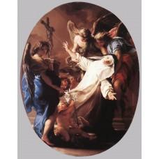 The Ecstasy of St Catherine of Siena