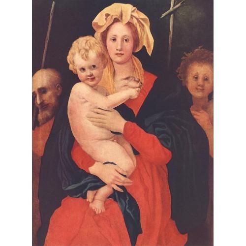 Madonna and Child with St Joseph and Saint John the Baptist