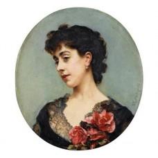 Portrait presume de la comtesse Jacquemont nee Brialle