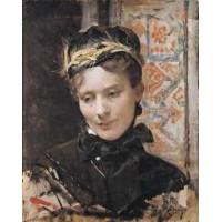 Raimundo Madrazo Portrait of a Lady 1885 95