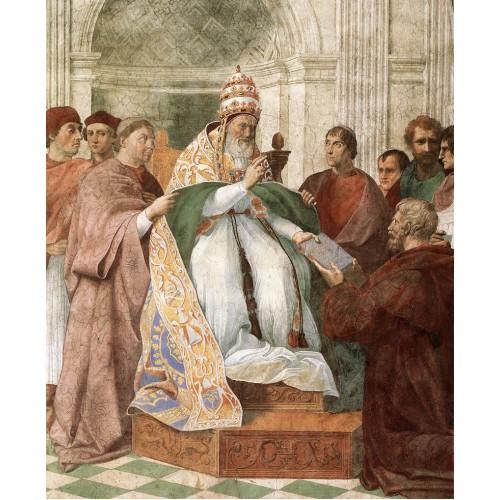 Gregory IX Approving the Decretals