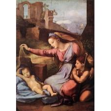 Madonna with the Blue Diadem
