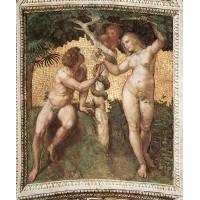 Stanza della Segnatura Adam and Eve