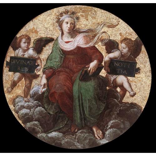 Stanza della Segnatura Theology - Raphael - oil painting ...
