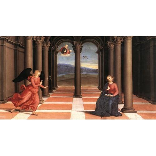The Annunciation (Oddi altar predella)