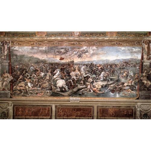 The Battle at Pons Milvius