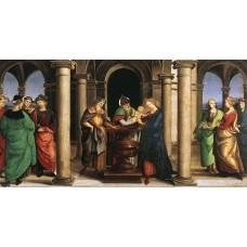 The Presentation in the Temple (Oddi altar predella)