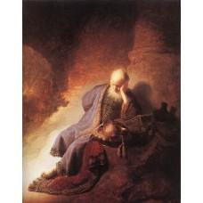 Jeremiah Lamenting the Destruction of Jerusalem