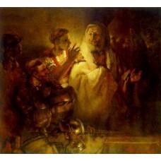 Peter Denouncing Christ
