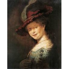 Portrait of the Young Saskia