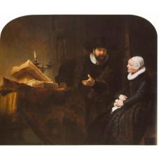 The Mennonite Minister Cornelis Claesz Anslo in Conversati