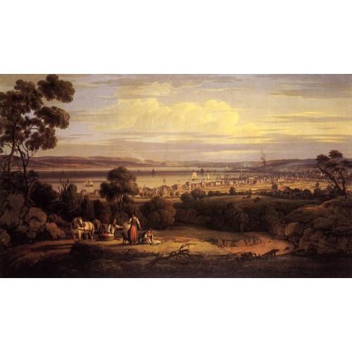 View of Greenock Scotland