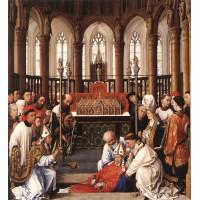 Exhumation of St Hubert