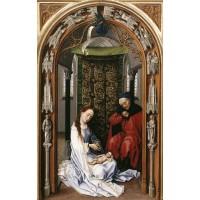 Miraflores Altarpiece (left panel)