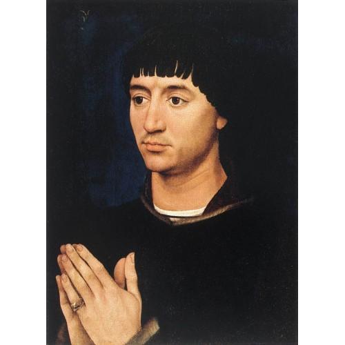 Portrait Diptych of Jean de Gros (right wing)