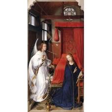 St Columba Altarpiece (left panel)
