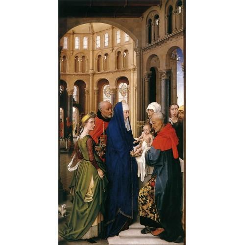St Columba Altarpiece (right panel)