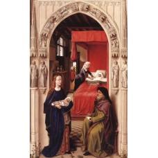 St John Altarpiece (left panel)