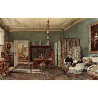 The Morning Room of the Palais Lanckoronski Vienna