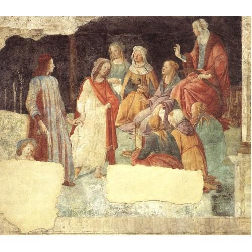Allegoric Painting (from Villa Lemmi) 2