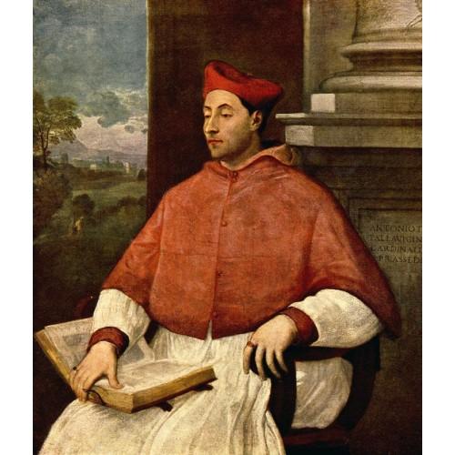 Portrait of Antonio Cardinal Pallavicini