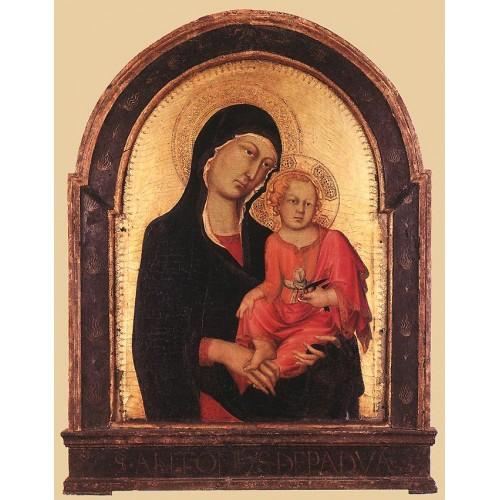 Cambridge Altarpiece Madonna and Child