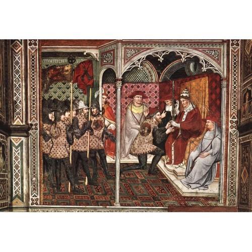Pope Alexander III Receives an Ambassador