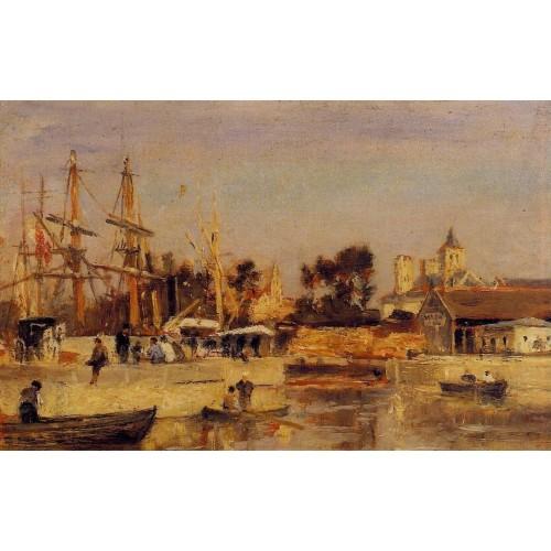 A Corner of the Port Caen
