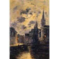 A Moonlit Canal