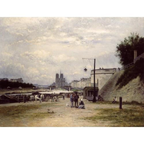 The Henri IV Quay Paris