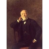 Portrait of Andrew Carnegie