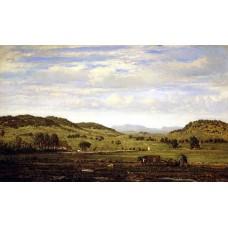 Landscape of Jura Arbois