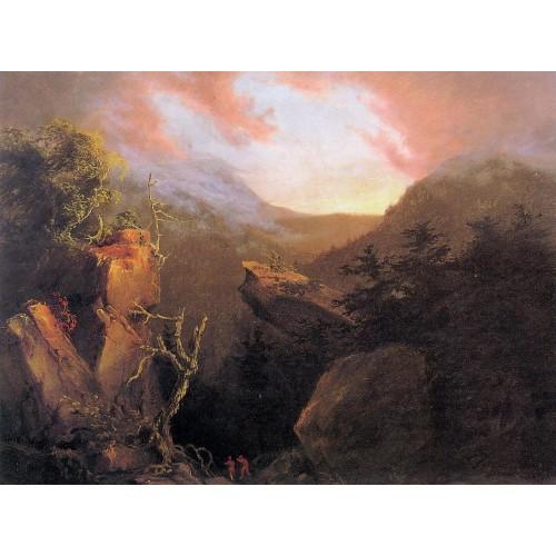 Mountain Sunrise Catskill