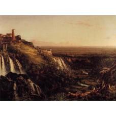 The Cascatelli Tivoli Looking Towards Rome