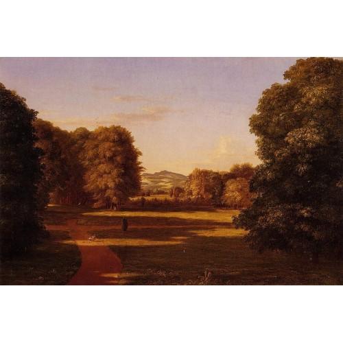 The Gardens of the Van Rensselaer Manor House