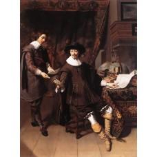 Constantijn Huygens and his Clerk
