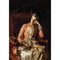 Portrait of Amelia Van Buren