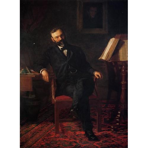 Portrait of Dr John H Brinton
