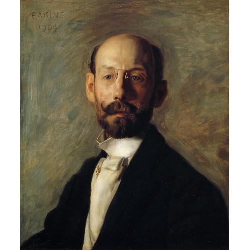 Portrait of Frank B Linton