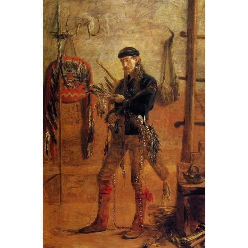 Portrait of Frank Hamilton Cushing