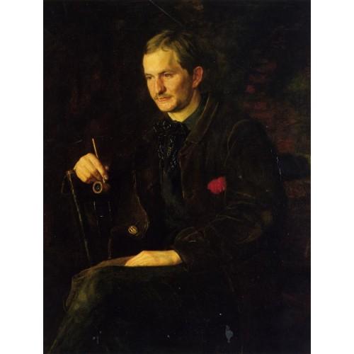 Portrait of James Wright
