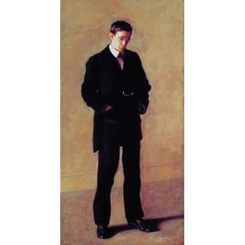 Portrait of Louis N Kenton
