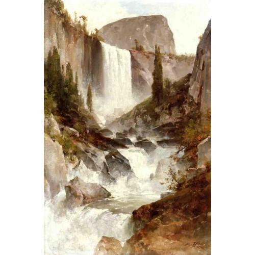 Falls in yosemite