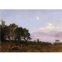 Morning clear lake