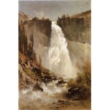 The falls of yosemite