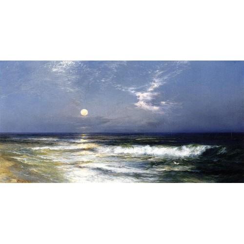 Moonlit Seascape 1