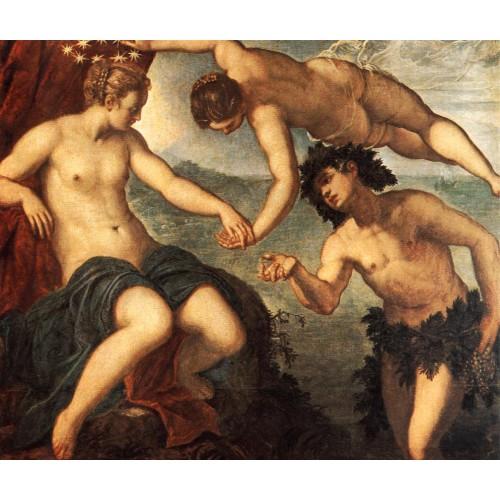 Ariadne Venus and Bacchus