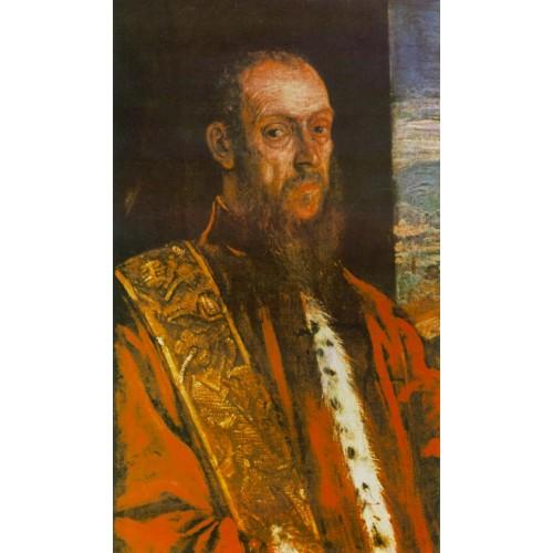 Portrait of Vincenzo Morosini