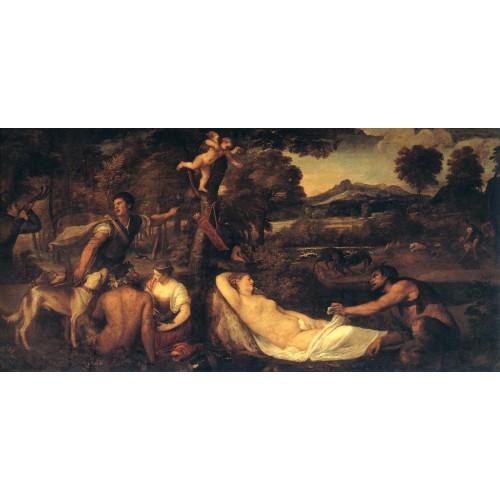 Jupiter and Anthiope (Pardo Venus)