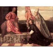 Pope Alexander IV Presenting Jacopo Pesaro to St Peter